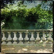 Protected Framed Prints - Balustrade Framed Print by Bernard Jaubert