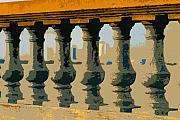 Balustrade Posters - Balustrade Poster by David Lee Thompson