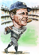 Yankees Painting Prints - Bambino Print by Tom Hedderich