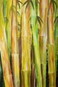 Thin Posters - Bamboo Forest Poster by Barbara Eberhart - Printscapes