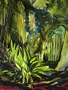Julianne Felton Art - Bamboo Garden I by Julianne Felton