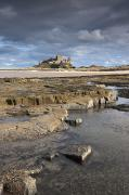 Long Distance Prints - Bamburgh, Northumberland, England Print by John Short