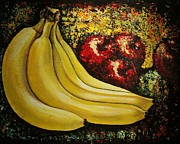 Bananas Originals - Bananas and Apples  by Martha Bennett