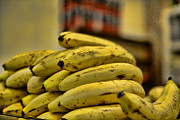 Tropical Fruit Prints - Bananas Print by Paul Ward