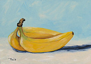 Torrie Smiley Metal Prints - Bananas Metal Print by Torrie Smiley