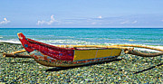 Philippines Art Prints - Banca Boat 3 Print by Skip Nall