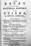 Bancroft: Title Page, 1769 Print by Granger