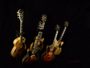Guitars Photos - Band Of Brothers by Donna Blackhall