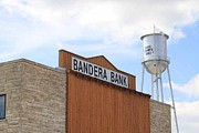 Bandera Prints - Bandera Bank Print by Monica Wheelus