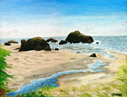 Colleen Ward - Bandon Rocks
