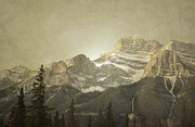 Autumn Photographs Framed Prints - Banff Close Up Framed Print by Andrea Hazel Ihlefeld