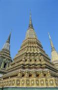 Immense Prints - Bangkok, Wat Po Print by Gloria & Richard Maschmeyer - Printscapes