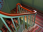 Abstracted Photos - Banister by Lynda Lehmann