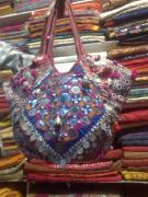 Ethnic Tapestries - Textiles - Banjara Patchwork Bag by Dinesh Rathi