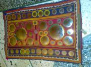 Indian Tapestries - Textiles - Banjara Patchwork Piece by Dinesh Rathi