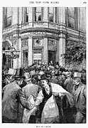 Bank Panic Prints - Bank Panic, 1890 Print by Granger