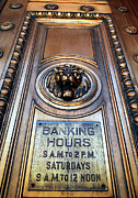 And Posters Prints - Bankers Hours - Doorway To The Money Print by Steven Milner