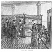 Banking, 19th Century Print by Granger