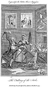 1793 Framed Prints - Bankrupt Investor, 1793 Framed Print by Granger