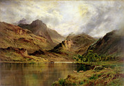Majestic Paintings - Banks of Arrochar by Alfred de Breanski