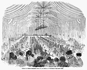 Homage Photo Posters - Banquet, 1851 Poster by Granger