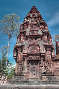 Siem Reap Posters - Banteay Srei temple tower Poster by MotHaiBaPhoto Prints