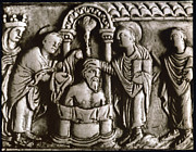 Baptism Paintings - Baptism Of Clovis I, 496 A.d by Granger