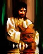 Baptism Digital Art - Baptism by Susan  Solak