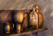 Honk Prints - Bar - Implements of Whiskey  Print by Mike Savad