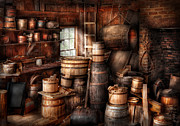 Spirits Photos - Bar - Wine Maker - Just add wine  by Mike Savad
