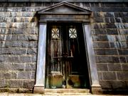 Mausoleum Prints - Bar across the door Print by Bob Orsillo
