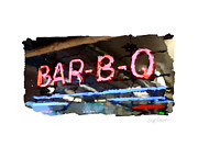 Kitts Posters - Bar-B-Q Poster by Geoff Strehlow