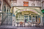 Stephanie Benjamin Prints - Bar de lEntracte Print by Stephanie Benjamin