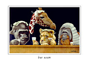 Court Paintings - Bar Exam... by Will Bullas
