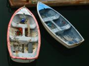 Dinghies Framed Prints - Bar Harbor Dinghies Framed Print by Juergen Roth