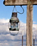 Bar  Harbor Posters - Bar Harbor Lantern Poster by Betty LaRue