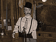 Jorge Gaete - Bar keeper long ago.