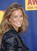 At Arrivals Prints - Bar Refaeli At Arrivals For Mtv Video Print by Everett