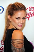 Sports Illustrated Framed Prints - Bar Refaeli In Attendance For Sports Framed Print by Everett