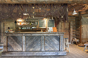 Netting Posters - Bar With a Rustic Decor Poster by Jaak Nilson