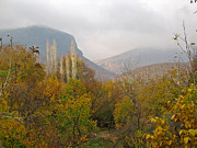 Issam Hajjar - Barada valley in fall