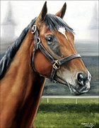 Churchill Prints - Barbaro at Churchill Downs Print by Thomas Allen Pauly