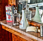 Goods Photo Prints - Barber - Talc and toilet water Print by Paul Ward