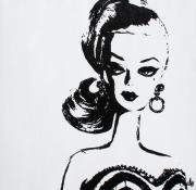 Warhol Painting Originals - Barbie by Christine Luksis