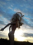 Melanie Cochrane-fallon Metal Prints - Barbie Doll Sky Metal Print by Melanie Cochrane-Fallon