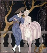 Ball Gown Prints - Barbier: Artful Servant Print by Granger