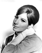 1968 Movies Posters - Barbra Streisand, Portrait From Funny Poster by Everett