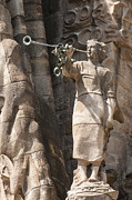 During Art - Barcelona church Sagrada Familia Nativity Facade Detail by Matthias Hauser