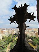 Us Propaganda Photos - Barcelona Cityscape from Sagrada Familia 2 by Yuki Komura