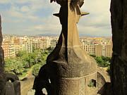 Us Propaganda Photos - Barcelona Cityscape from Sagrada Familia 3 by Yuki Komura